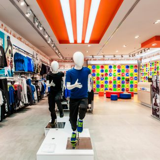 Refurbishment of a sports shop - ADIDAS KIDS - Morocco