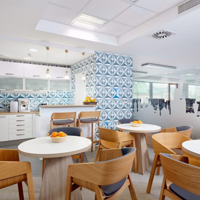 Fit-out completed in occupied premises - BOOKING.COM  - Czech Republic