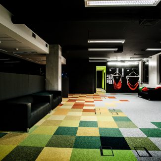 Fit-out of inspiring office space - City Interactive Games - Poland
