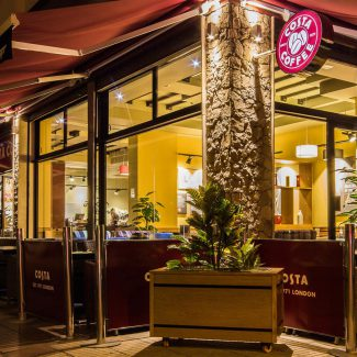 Fit-out of a coffee shop - COSTA COFFEE - Morocco