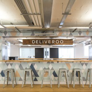 Design and fit-out of new HQ - Deliveroo - United Kingdom