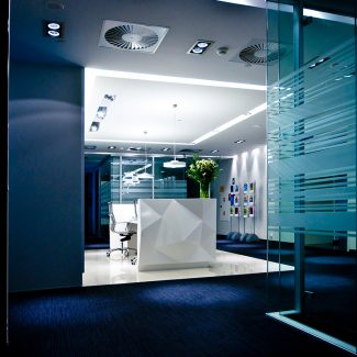 Delivery of office fit-out - DLA Piper Wiater - Poland