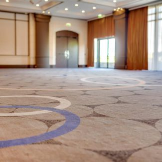 Delivery of conference rooms - Hilton - France