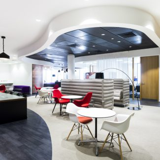 Office design and fit-out for professional services firm - JLL -UK