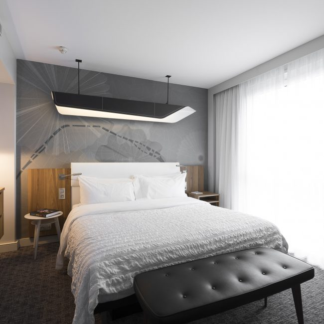 Renovation of hotel rooms - Le Méridien - France