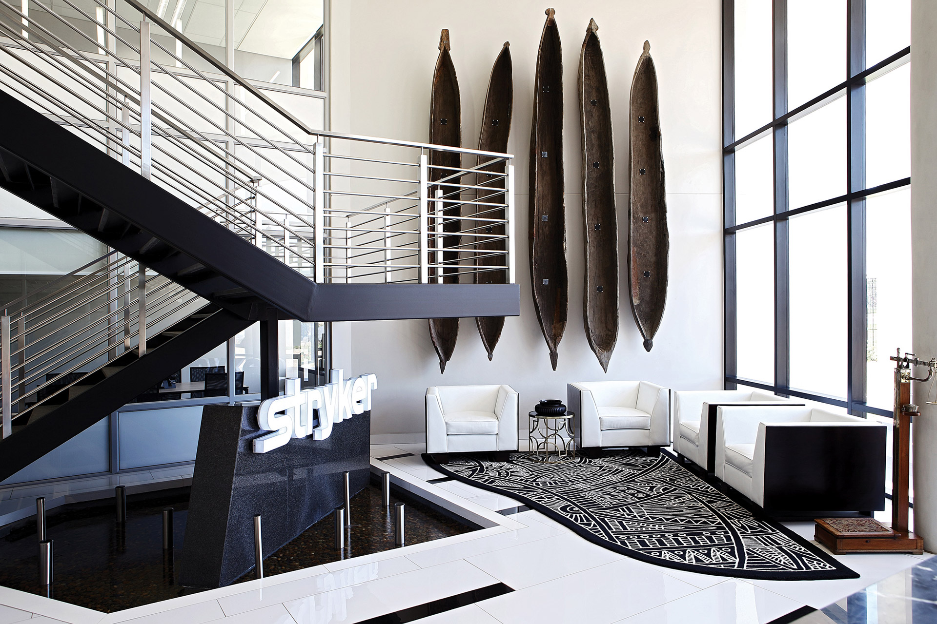 Vibrant African Office Design