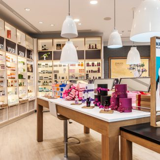 Fit-out of a new cosmetics store - The Body Shop - Morocco