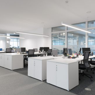 Construction works for offices interiors - Altran - Portugal
