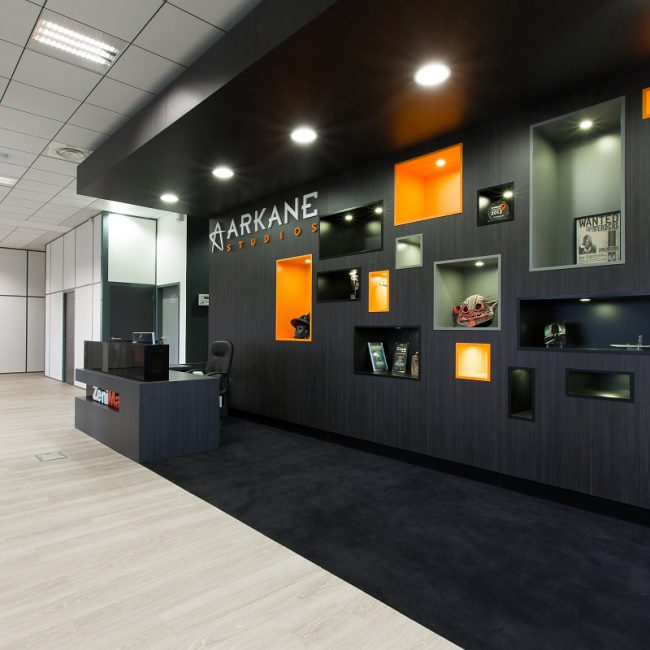 Delivery of offices in Lyon - ARKANE STUDIOS - France