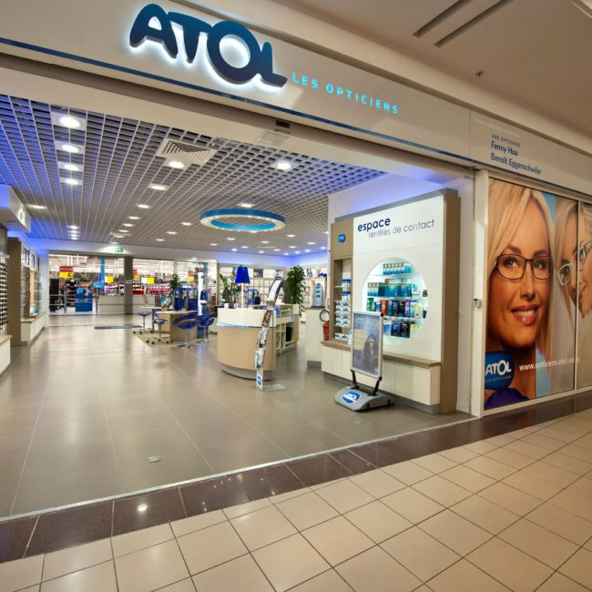Deployment of concept and delivery of retail outlets - ATOL - France