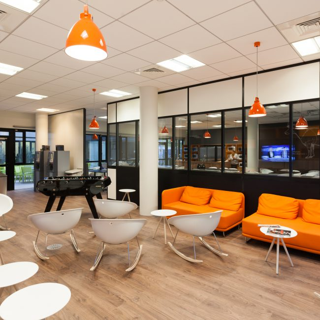 Design and delivery of offices in Lyon - AVEO - France