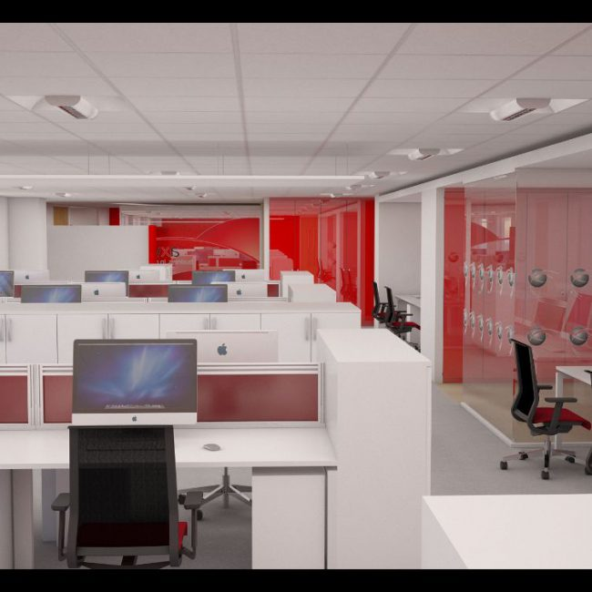 Design and fit-out of new office - AXWAY - United Kingdom