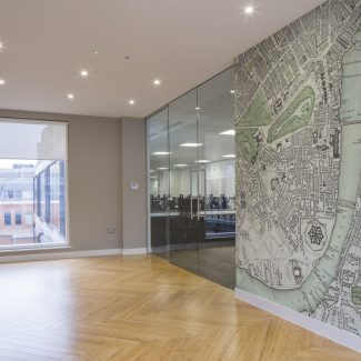 Design and fit-out of new office - Balyasny Asset Management - United Kingdom