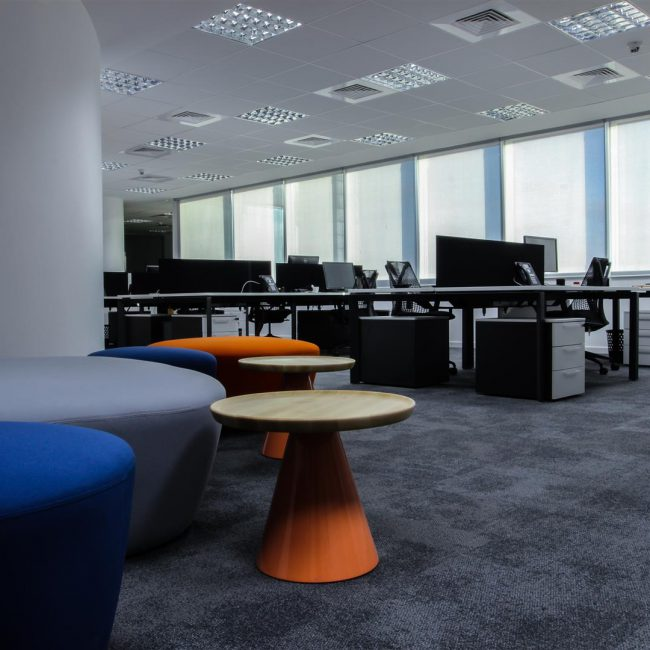 Fit-out of offices in Casablanca - BASF - Morocco