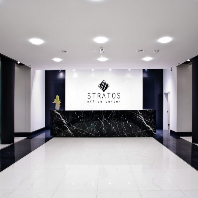 Stylish building lobby - Basques Investments - Poland
