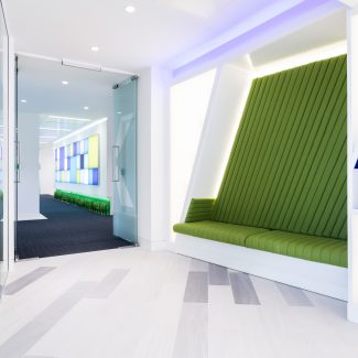 Office fit-out of new HQ - Baxalta - United Kingdom