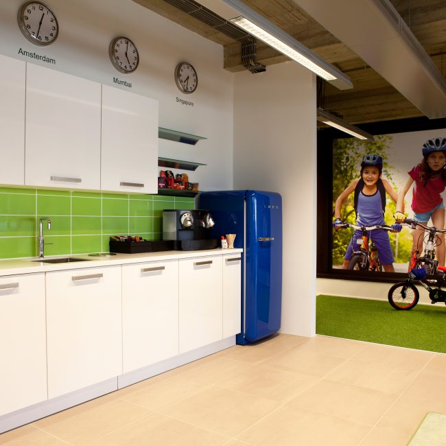 Office fit-out - Britvic - Netherlands