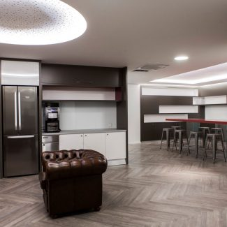 Delivery of a new head office - BROWN FORMAN - France