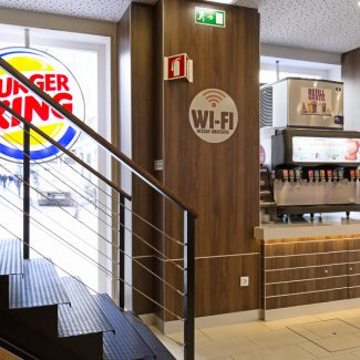 Travaux de construction pour un restaurant urbain - BURGER KING - Portugal