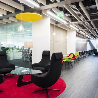 Office design and fit-out - CBI - United Kingdom