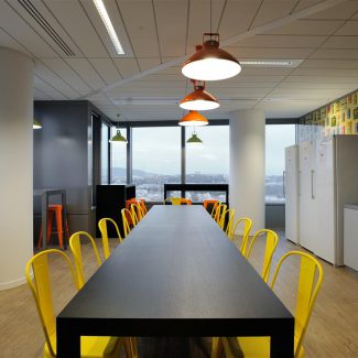 Turnkey delivery of new offices in Lyon - CERA - France
