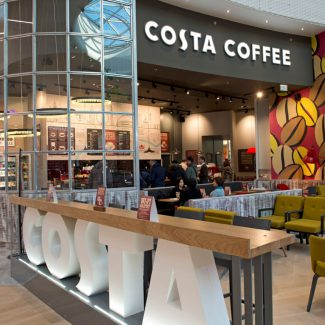 Delivery of 18 coffee shops - Costa Coffee- France