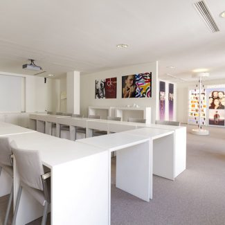Design and delivery of meeting rooms - COTY - France