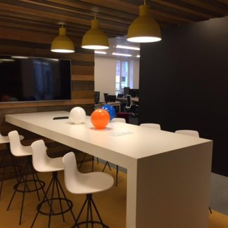 Delivery of new offices for a start-up - DEEZER - France