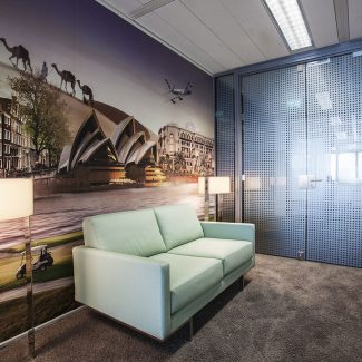 Office fit-out - ETIHAD - Netherlands