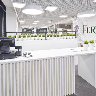 Fit-out of airlines restaurant - Ferier - Poland