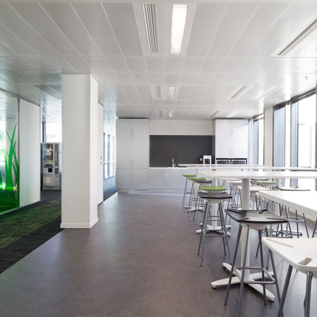 Conception de bureaux - FM GLOBAL - France