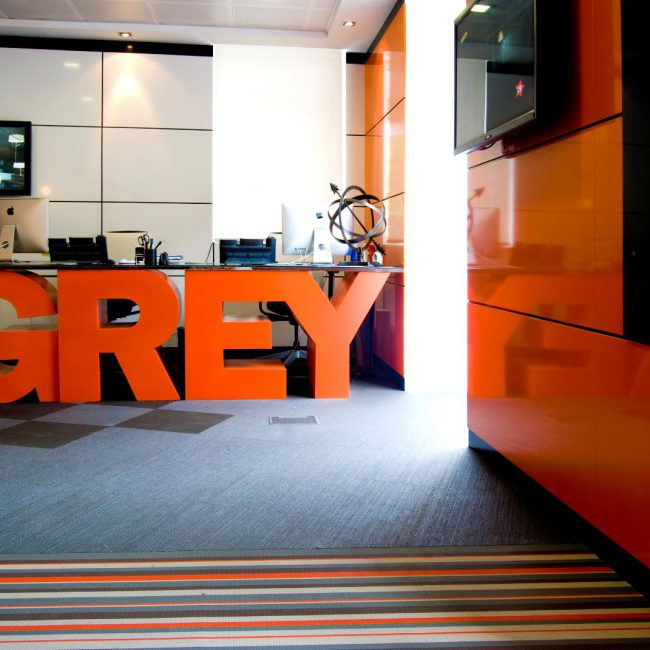 Design & build for advertising agency - GREY GROUP - Spain