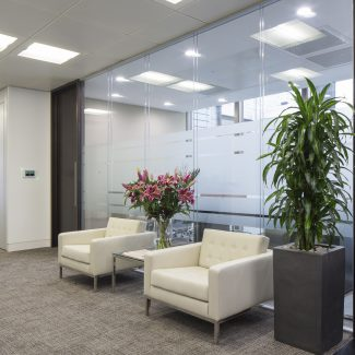 Cat B office fit-out - Heitman - United Kingdom