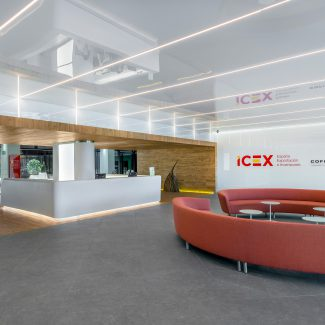 Campus design & build for foreign trade institute - ICEX - Spain