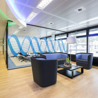 Office fit-out - Pharmaceutical Company - Netherlands