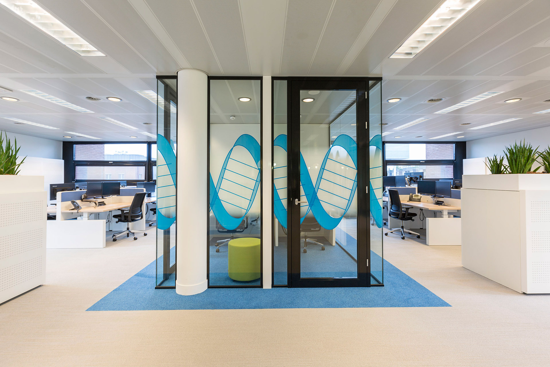 Office fit out tetris db for Office fit out companies