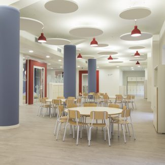 Space planning e Interior design  - International School of Europe - Italy