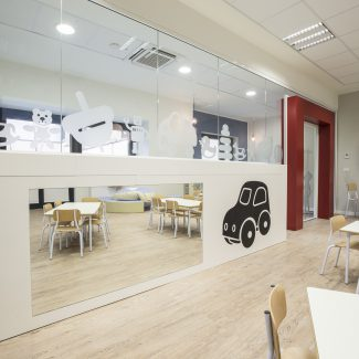 A child friendly interior design - International School of Europe - Italy