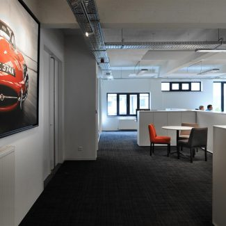 Delivery of new head offices - JAGUAR LAND ROVER - Belgium