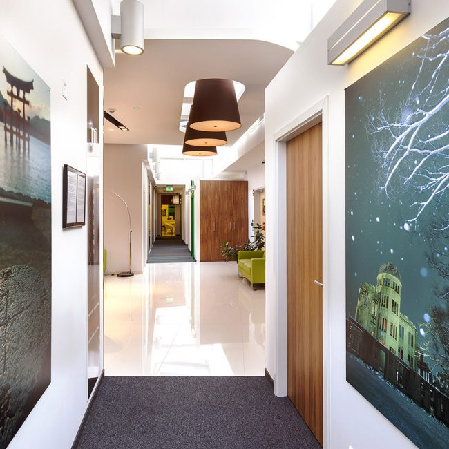 Delivery of unique office  space - Japanese Tabaco International - Poland