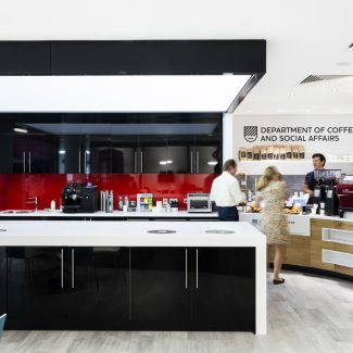 Office design and fit-out for professional services firm - JLL - United Kingdom
