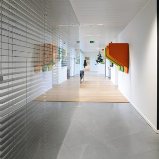 Delivery of offices - JWT - Belgium