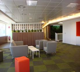 Office fit out for risk management company - MUNICH RE - Spain
