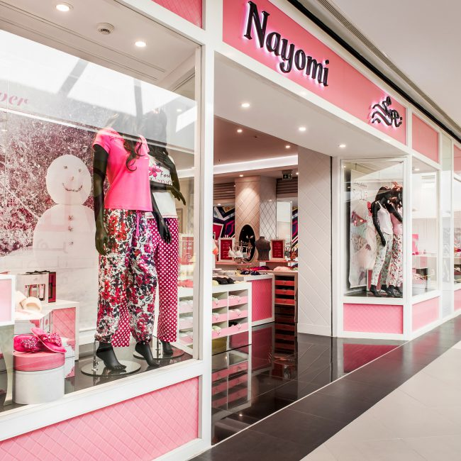 Fit-out of a new lingerie store - NAYOMI - Morocco