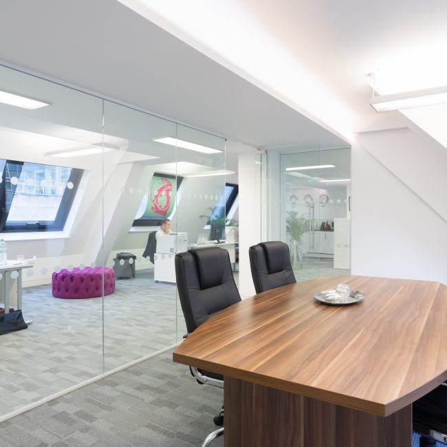 Contemporary office fit-out - One Two Trip - United Kingdom