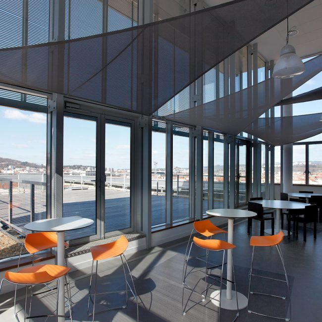 Design and delivery of offices in Saint-Etienne - ORANGE - France