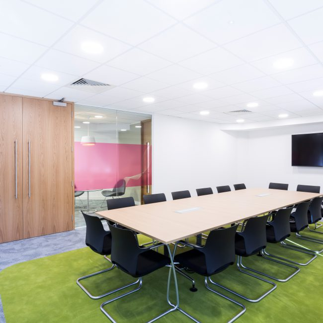Office fit-out of European HQ - Ortho Clinical Diagnostics - United Kingdom