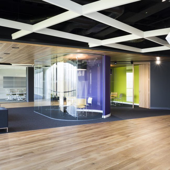 Contemporary office design and fit-out of new HQ - Pharmaceutical Company - United Kingdom