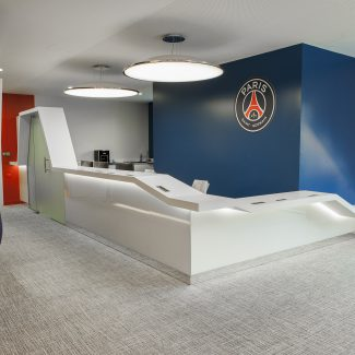 Delivery of offices for Paris Saint Germain - PSG - France