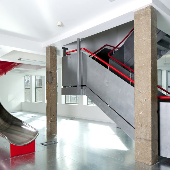 Cool office fit-out - Resolution Property - United Kingdom